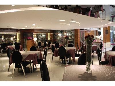 一樓早餐區與交誼廳