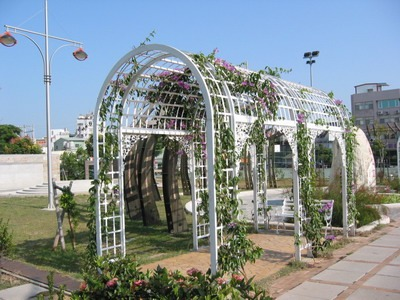 公園拱型花架