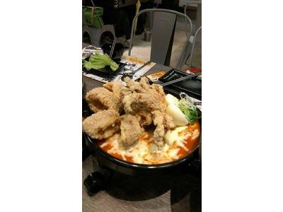 起司魷魚年糕鍋