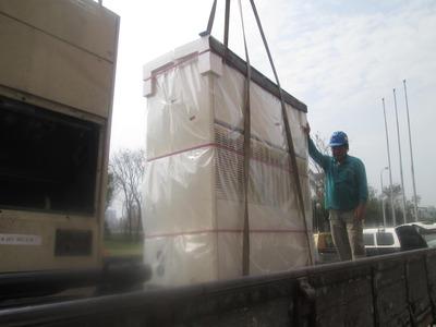 大型冷氣運輸搬運作業