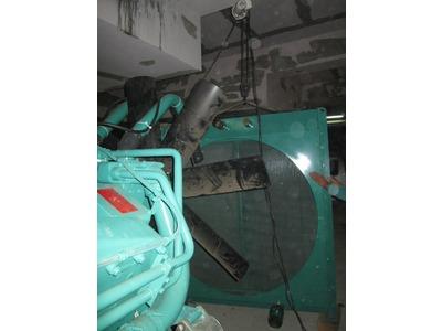 發電機拆除水箱作業