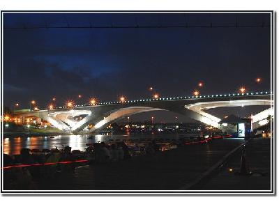 休閒-碧潭橋夜景