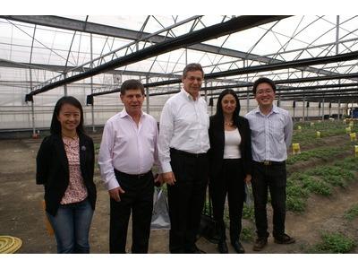 以色列農業部長專程來訪
