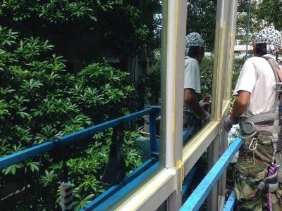 帷幕玻璃防水