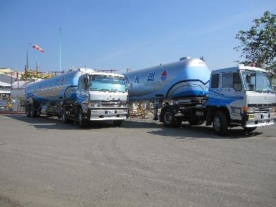 本公司最新20噸液化石油氣專用槽車