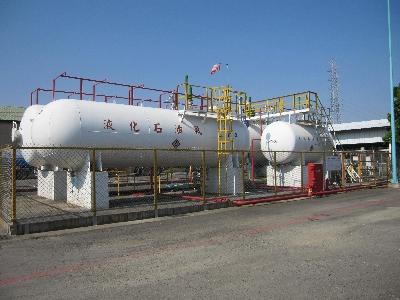 液化石油氣與丙專用儲槽
