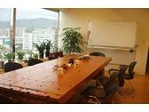 視野開闊的會議室