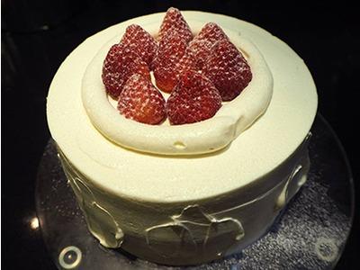 小農無毒草莓蛋糕