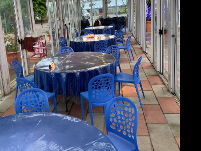 露天花園用餐區