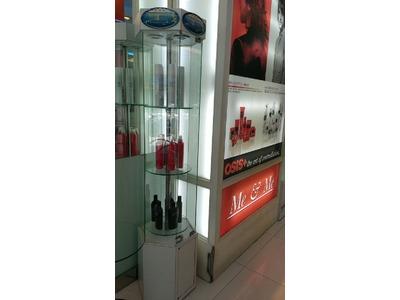 髮工坊產品展示櫃