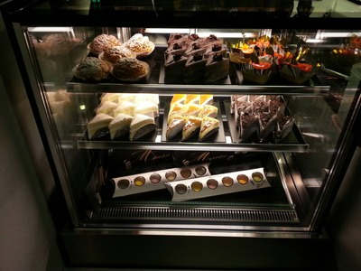 冬季蛋糕櫃