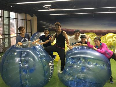 好好玩的~泡泡足球!