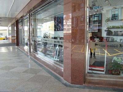 健身器材門市店面外觀