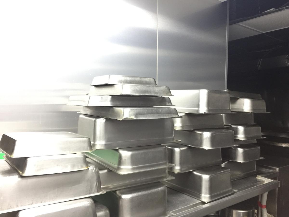 每日清洗菜盤示意圖