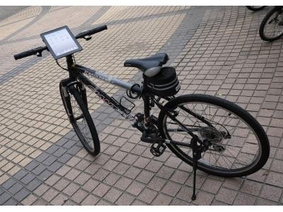 iPad2 安置在單車