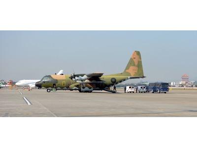 國軍運輸機C130後送