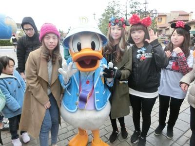 東京迪士尼員工旅遊
