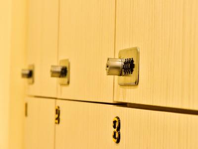 獨立密碼鎖的會員置物櫃