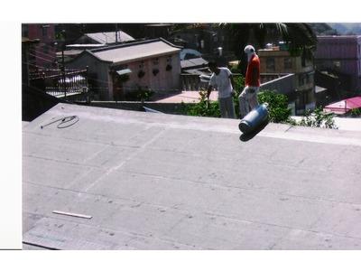 屋頂熱熔毯防水工程