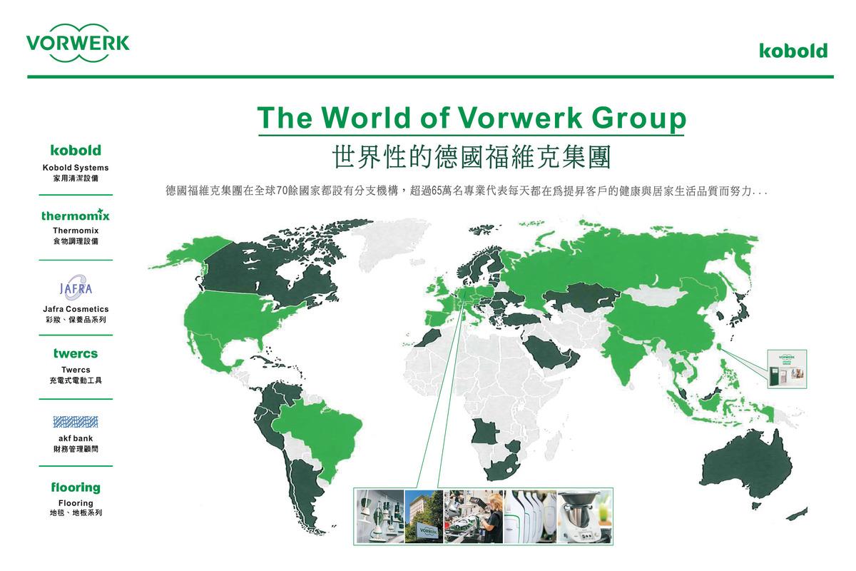 全球福維克分支圖