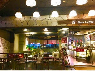 怡客咖啡復興店內景