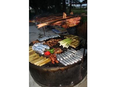 烤山豬食蔬