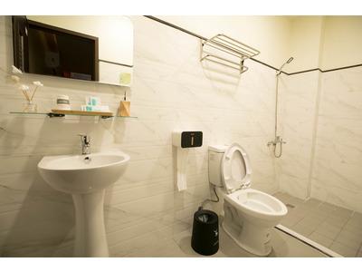 每個包廂都有衛浴設備有隱私