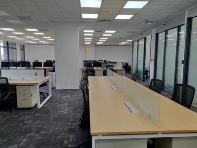 寬敞明亮的辦公環境