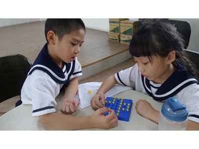 孔明棋也是數學課哦!