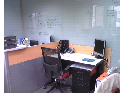 辦公室實景-業務秘書座位