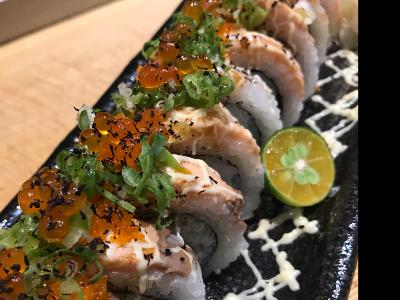 鮭魚加州捲