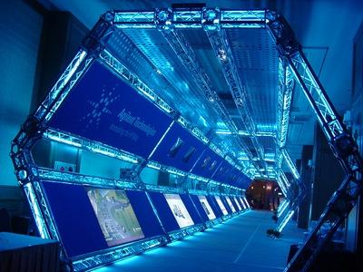 展場-時光隧道