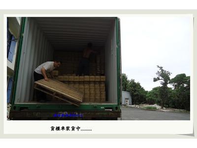 貨品上貨櫃-裝車