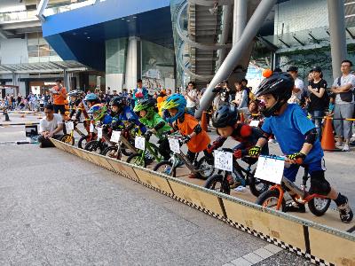 滑步車比賽活動
