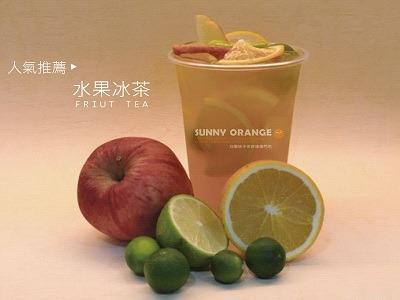人氣商品-水果冰茶