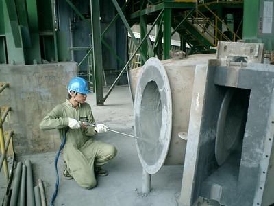 水泥廠施工