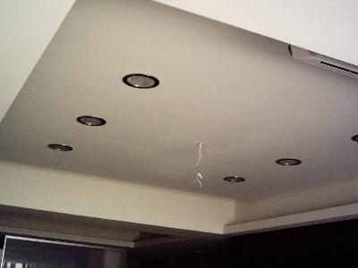 造型天花板完工照