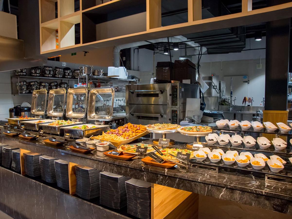 熟食buffet區