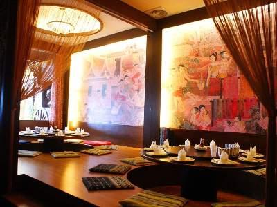 餐廳A區用餐環境