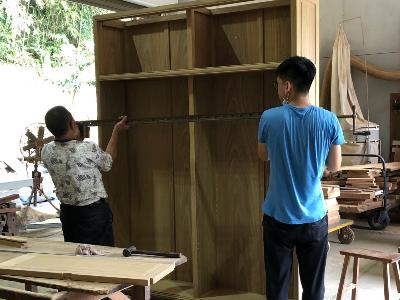 工房家具組裝