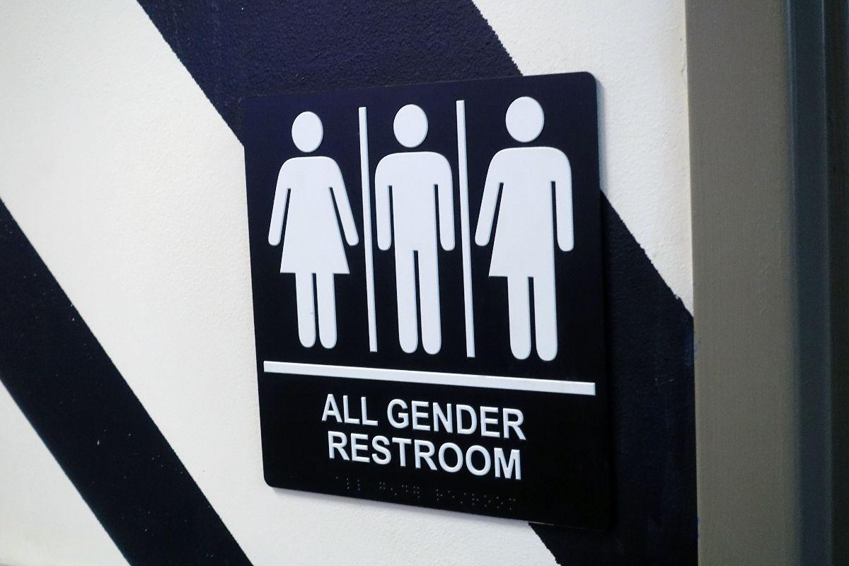 性別友善廁所(中性廁所)示意圖,不分性別皆可使用