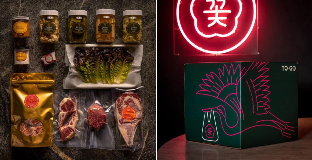Cote Korean Steakhouse 推出具特色的外帶菜單